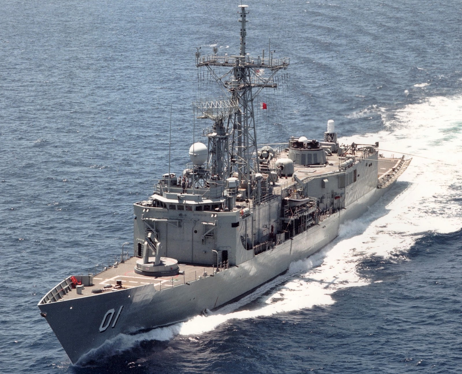 Adelaide class FFG (photo : Aus DoD)