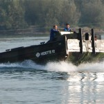 CEFA French-made military combat support boat VEDETTE F2