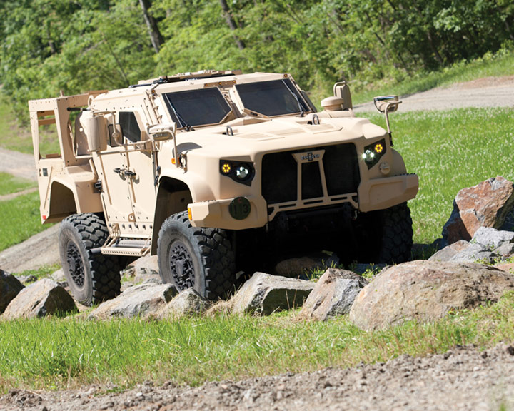 "Oshkosh Defense`s JLTV Solution Completes ""Net-Ready"" Testing"