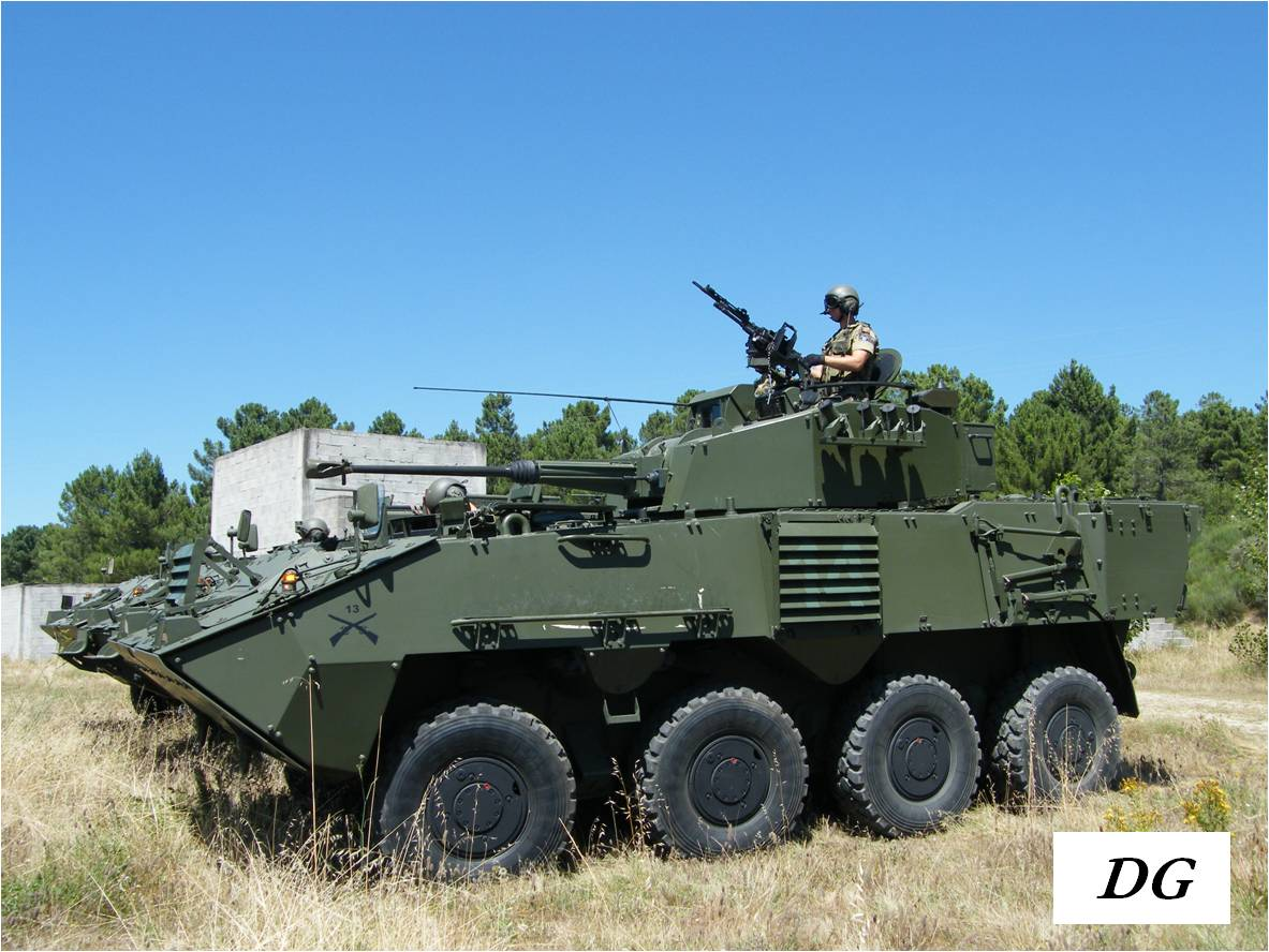The Portuguese Army is now armed with 166 Pandur II wheeled armoured vehicles