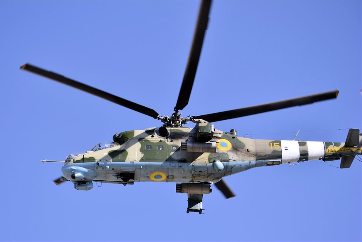 France to Help Ukraine Modernize Mi-24 Combat Helicopters