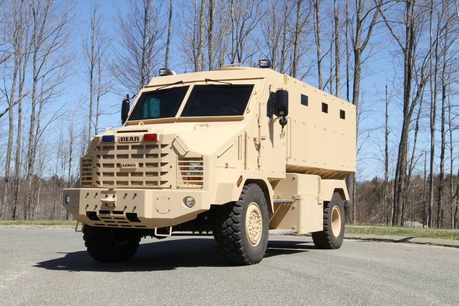 Lenco Announces Successful Blast Testing of BEAR® Troop Transport Armored Vehicle