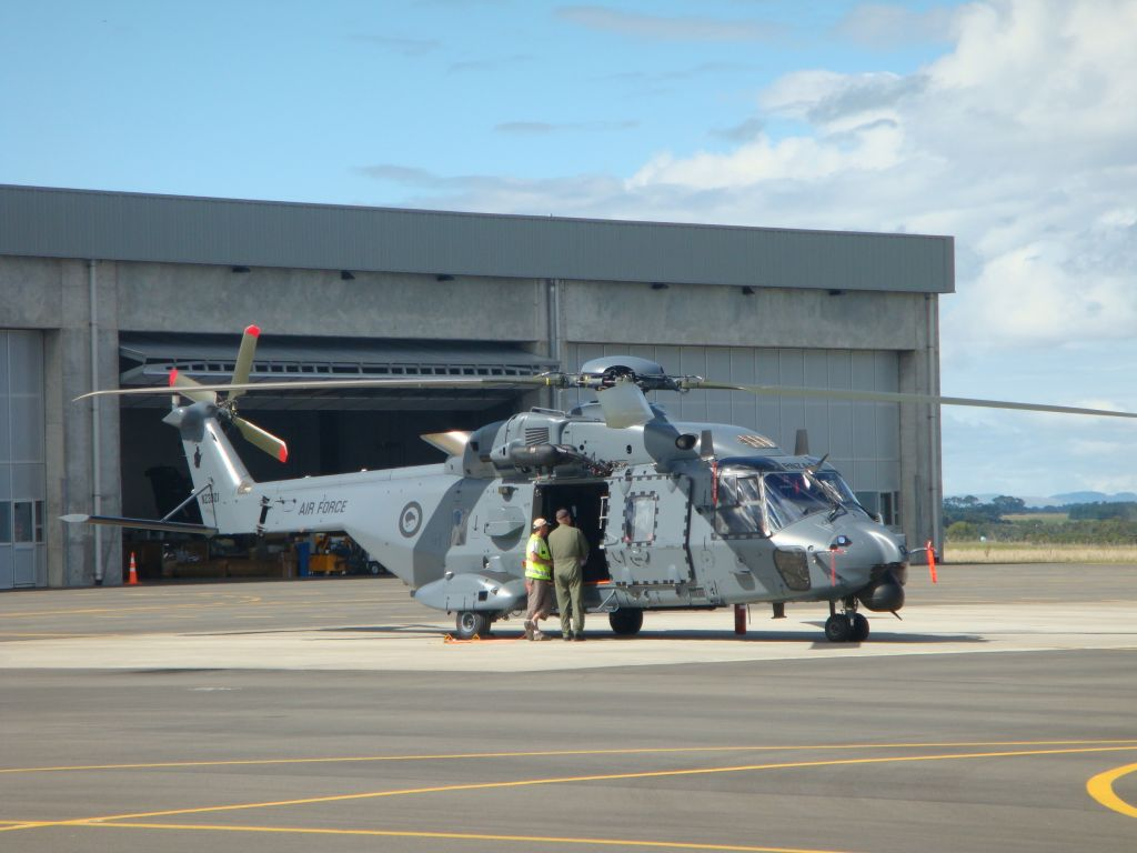 The Royal New Zealand Air Force Delivery Of Last Nh90
