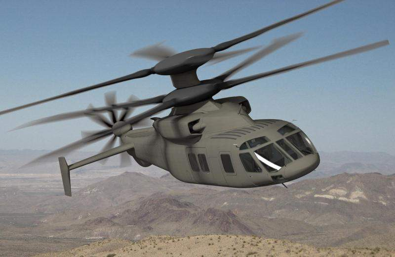 SB1 Defiant are the next generation multi-mission helicopters platform