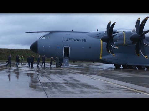 VIDEO: First A400M in Germany