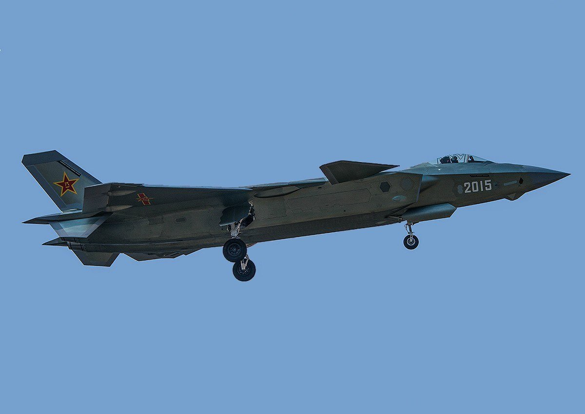 China Surpasses Russia in Total Number of 5th Generation Stealth Fighter