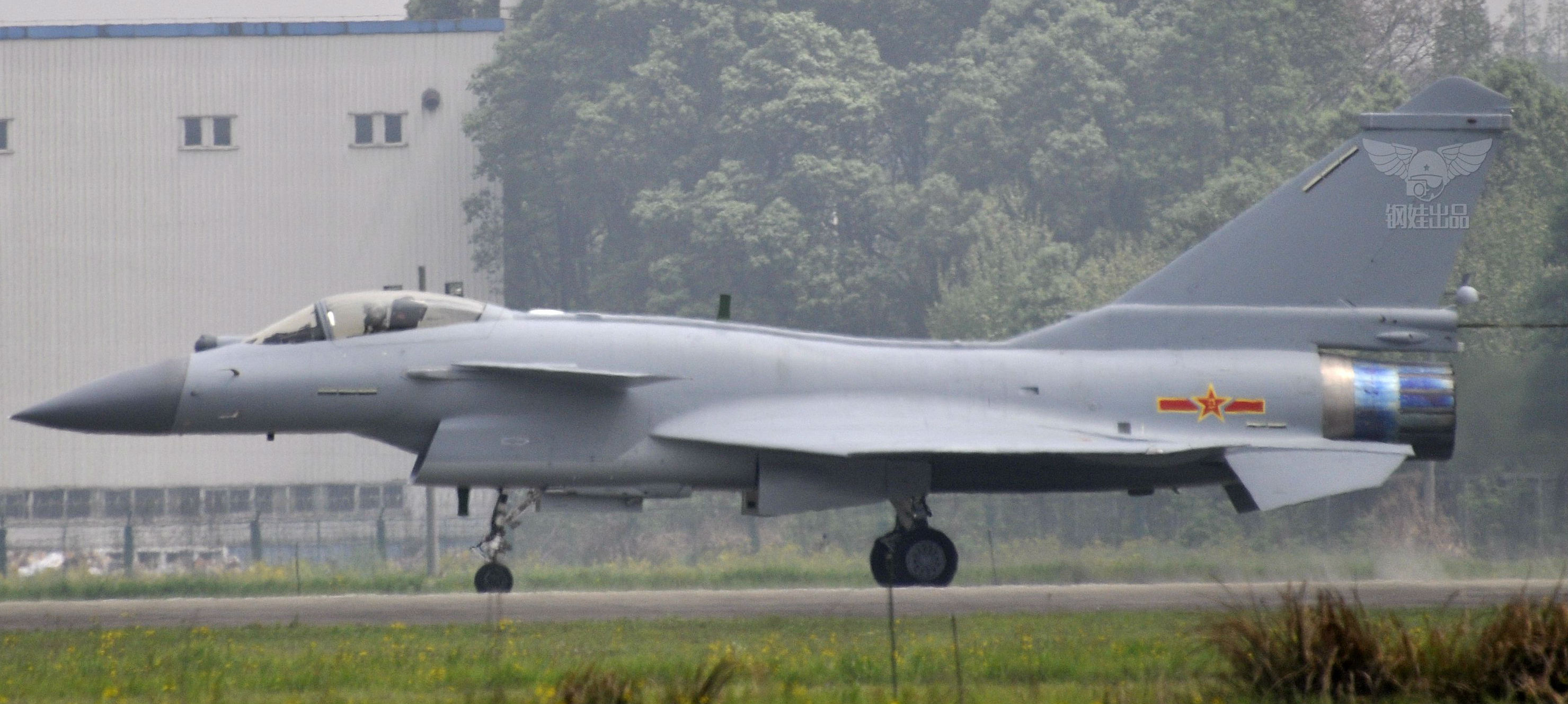 Chengdu J-10B Fighter Jet That Entered Chinese Service ...