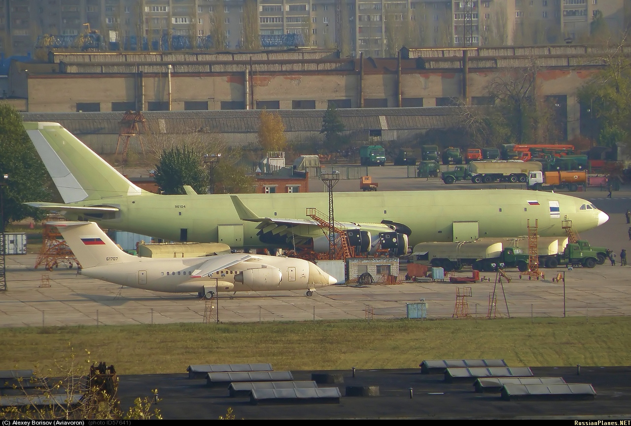 Russian Armed Forces will buy new aerial refueling tanker Il-96-400TZ