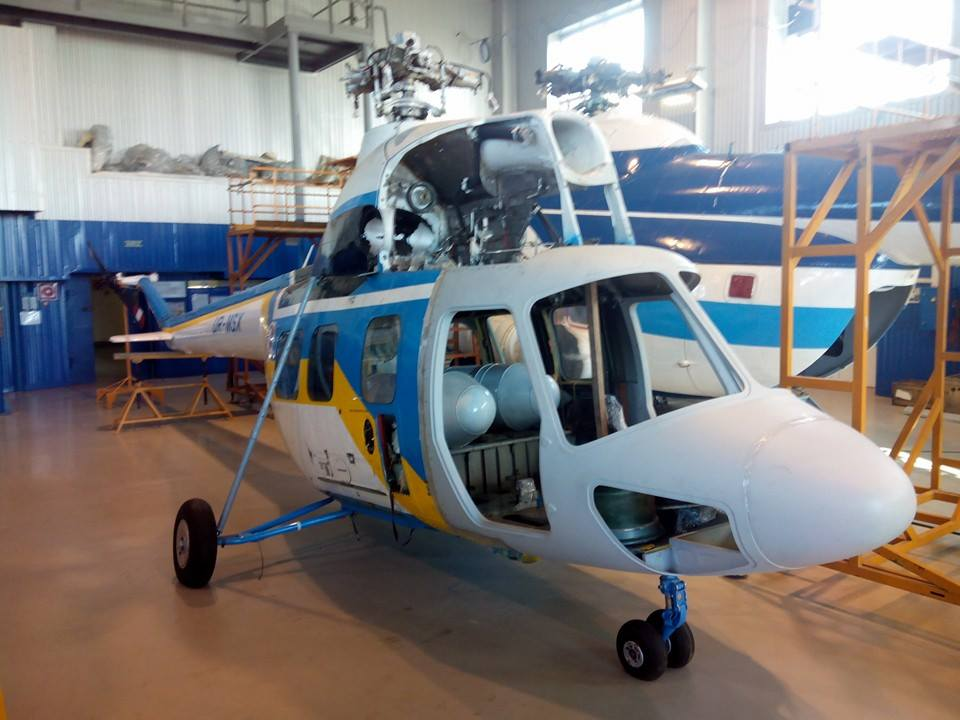 Ukraine  has developed a new military  helicopter MSB-2