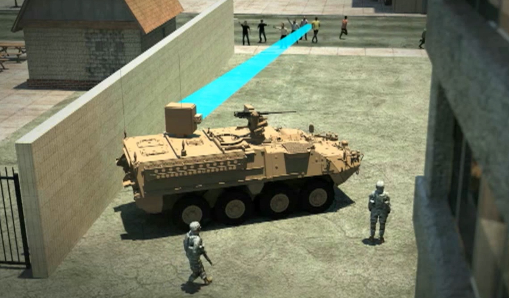 U.S. Army to be deployed Electromagnetic Radiation Weapon on Vehicle
