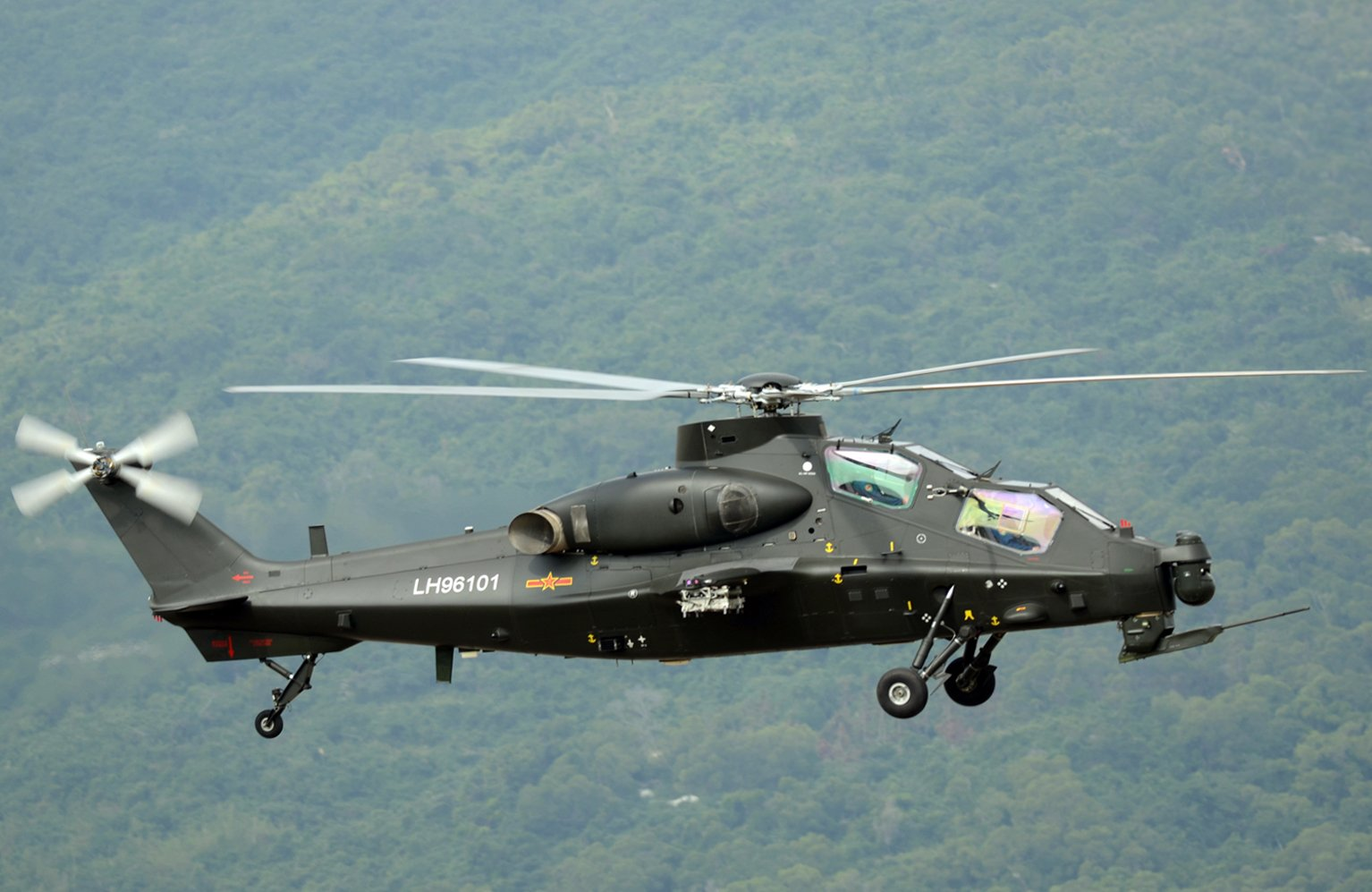 Pakistan interested to buy China's Z-10 attack helicopters