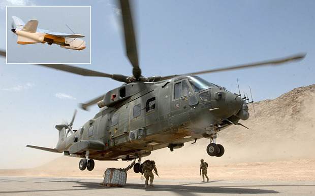 British Army drone nearly downed RAF helicopter during military exercise