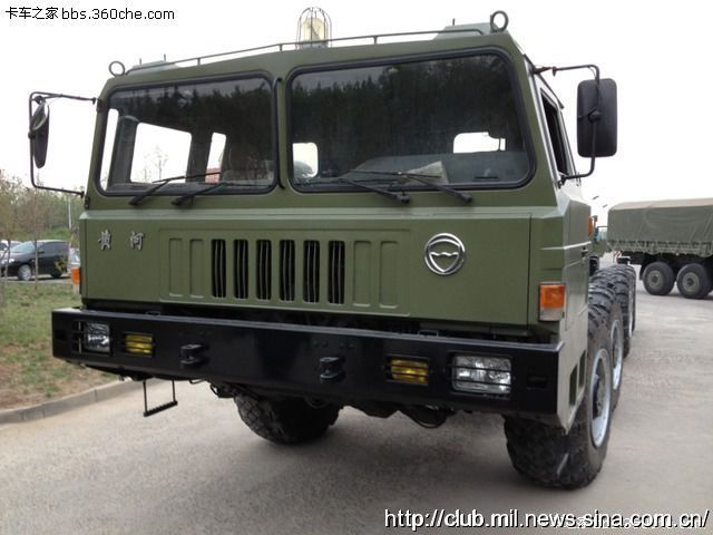 The new chassis for China tactical missile system