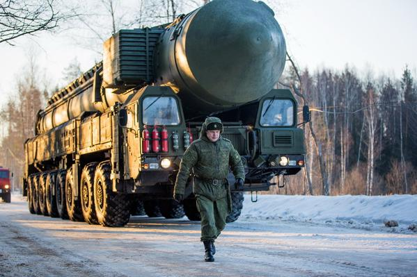 773rd Missile Regiment (Teykovo) RS-24 Yars  ICBMs depart for Moscow