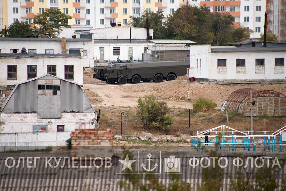 Russian K-300P «Bastion» Coastal Missile System seen  on Crimea