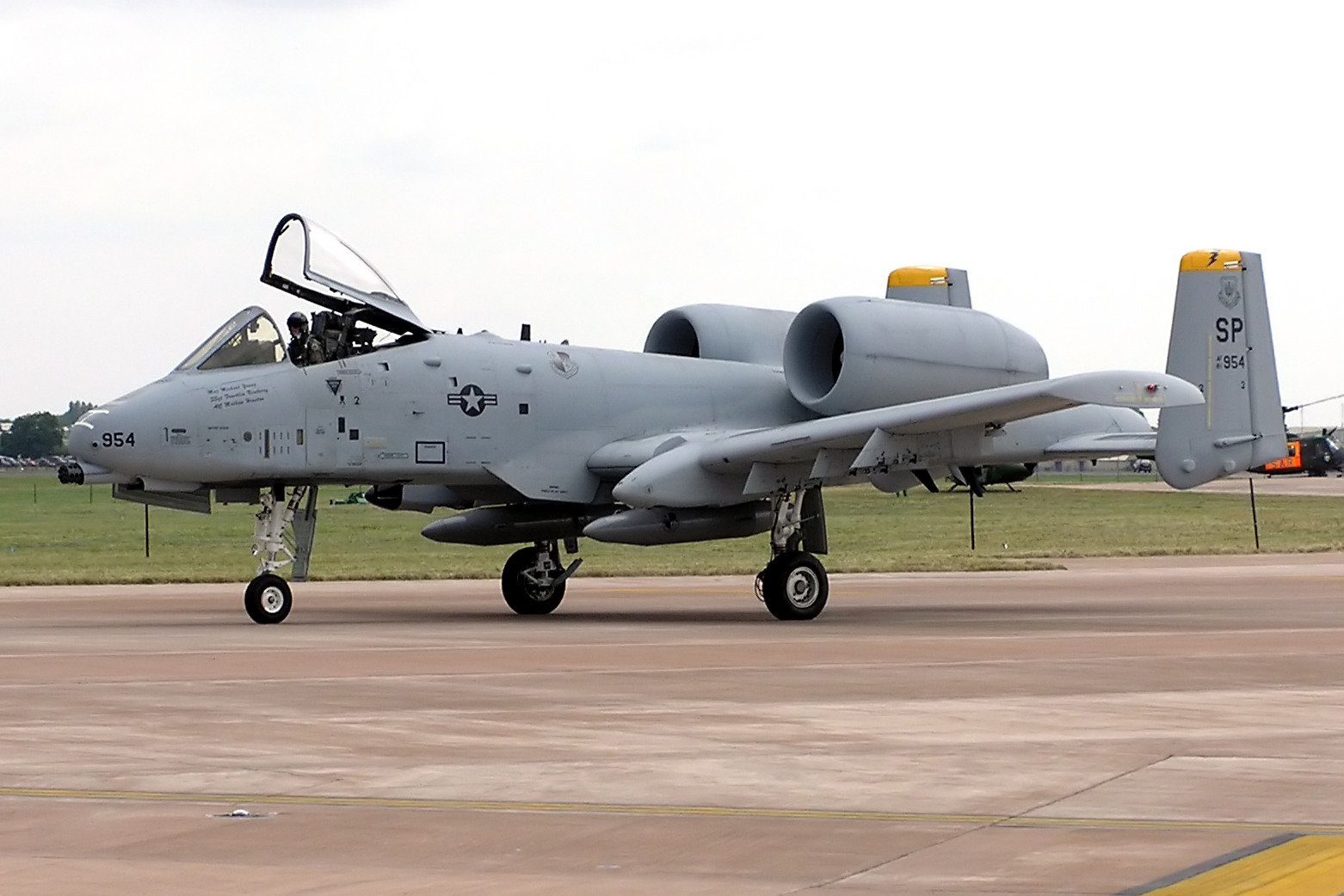 The U.S. Air Force will reintroduce the A-10 attack jet back to Europe