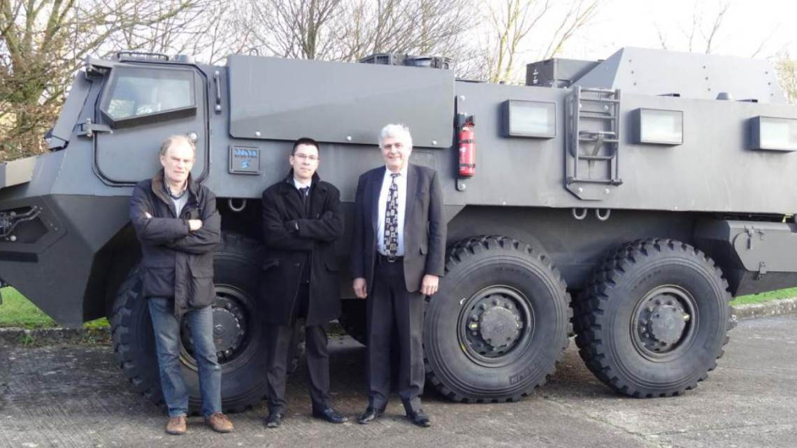 Renault Trucks Defense is experimenting with hybrid drive on the VAB MK III
