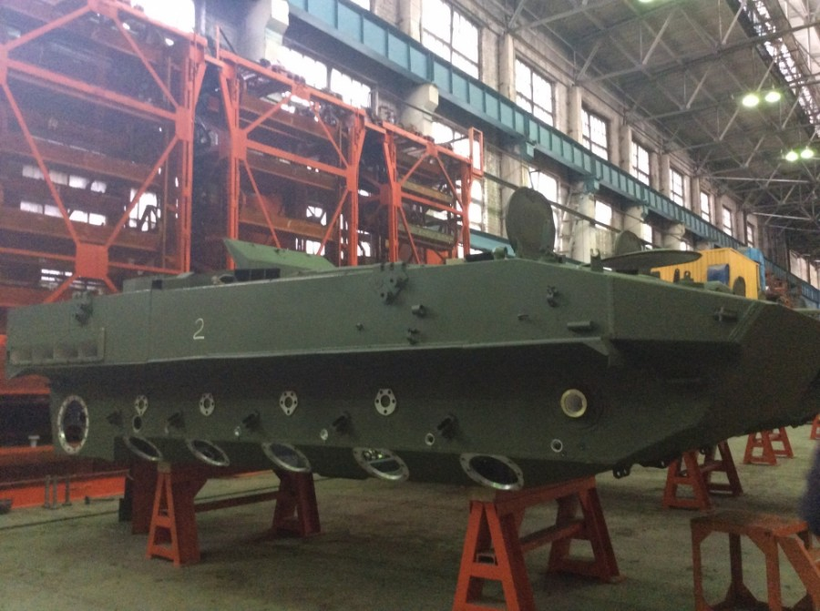 Signed a contract for the supply of Kurganets-25 armoured infantry fighting vehicle