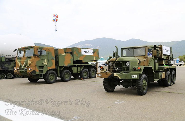 Army of South Korea to deploy this year new MLRS Multiple Launch Rocket System Chun-Mu