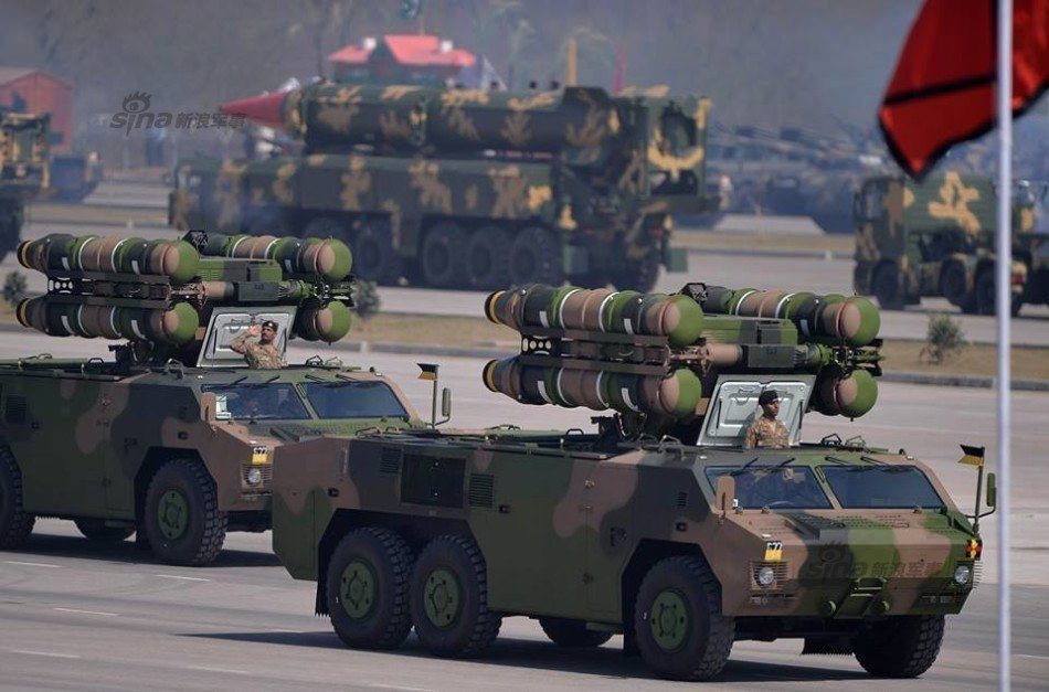 Photo : Pakistan held a grand military parade