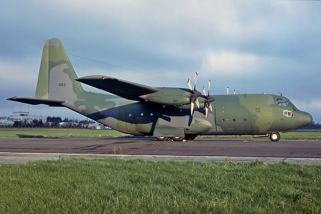 The US government has donated a C-130E  to the Ethiopian Air Force