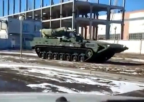 New secret Russian T-15 heavy armoured personnel carrier