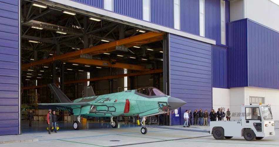 Italy Produces First F-35 Outside US 3