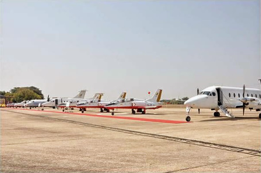 Myanmar Air Force aircraft get six new Chinese K-8 trainer aircraft