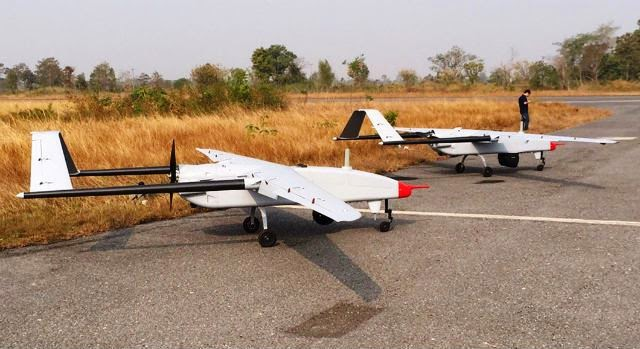 Jointly Developed UAV (Israel-Thailand) Passes Qualification Test