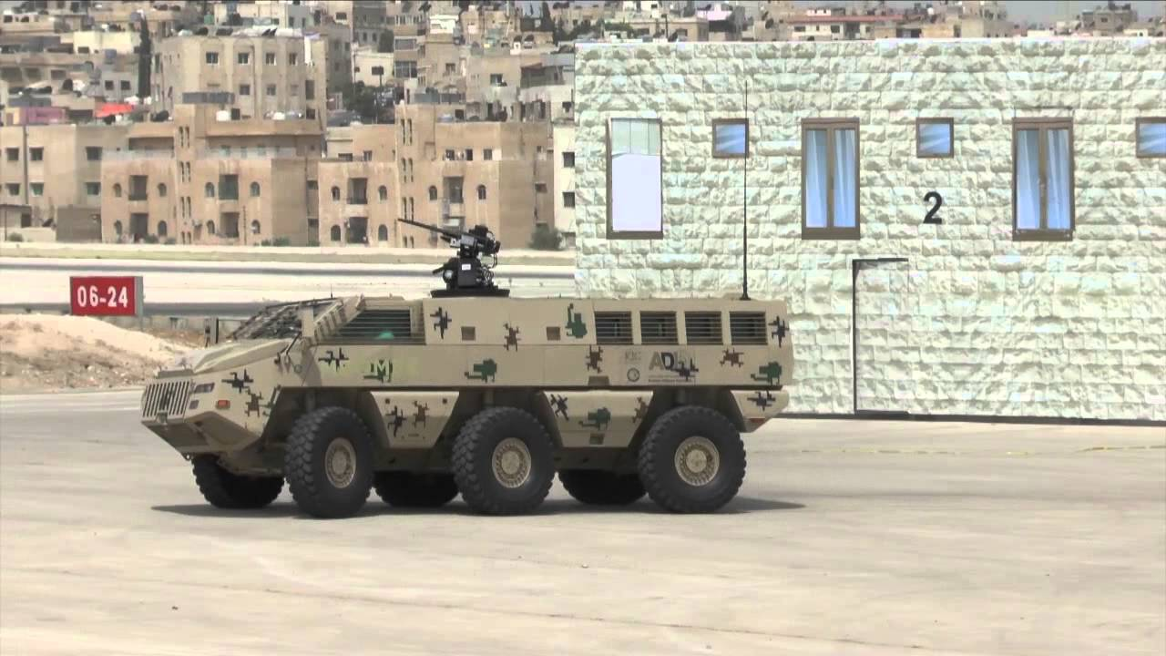 Paramount Group has won a contract for the production of 50 Mbombe vehicles in Jordan