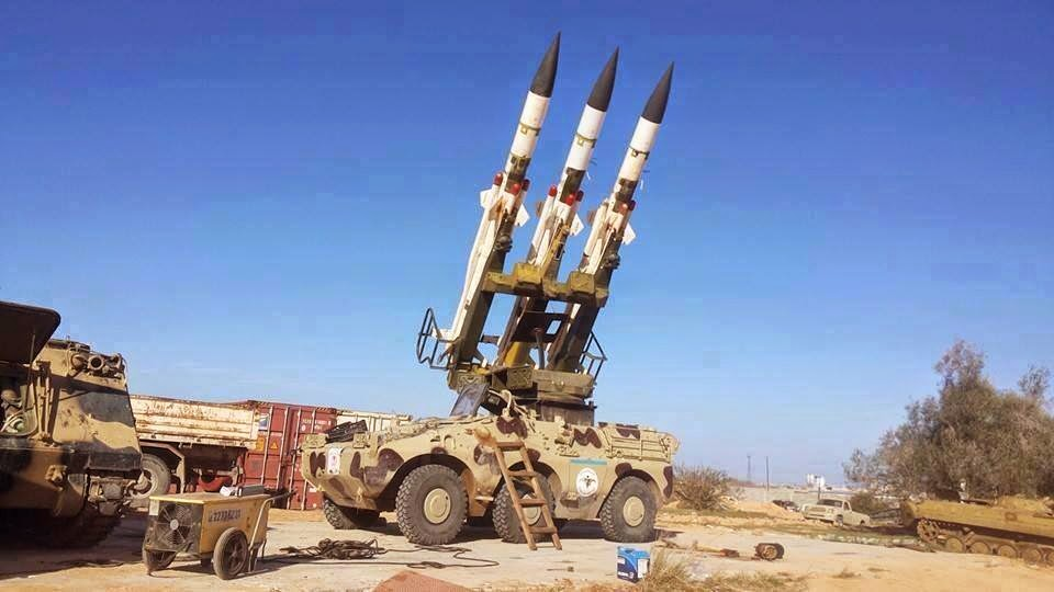 Libya Dawn going DIY: 2K12 SAMs used as surface-to-surface missiles