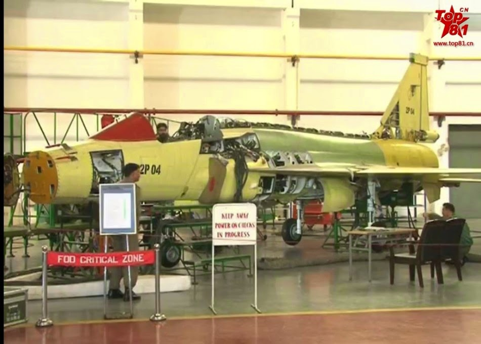 Assembly line of Pakistani JF-17 Block2 fighters 1