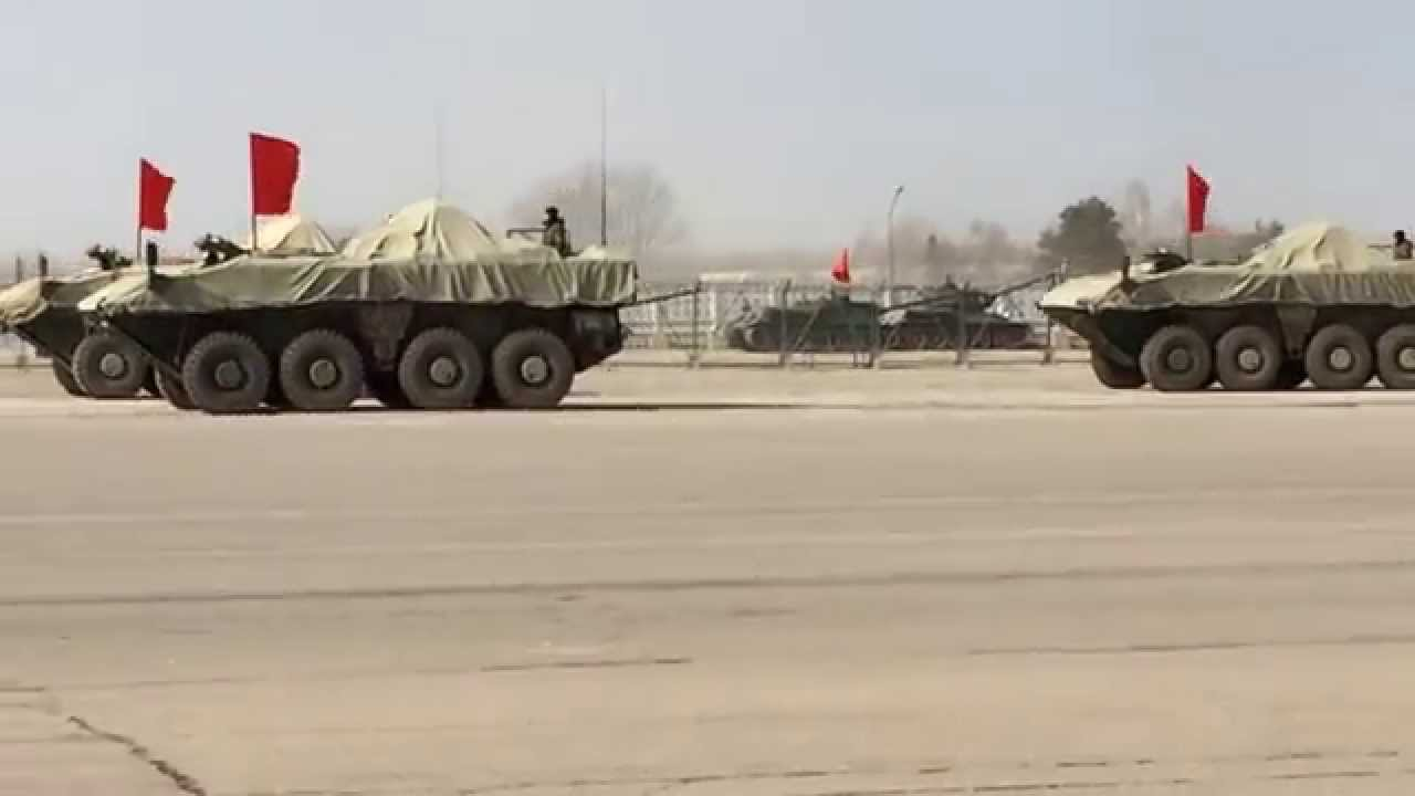 Video of  Modern Russian  Military Vehicles