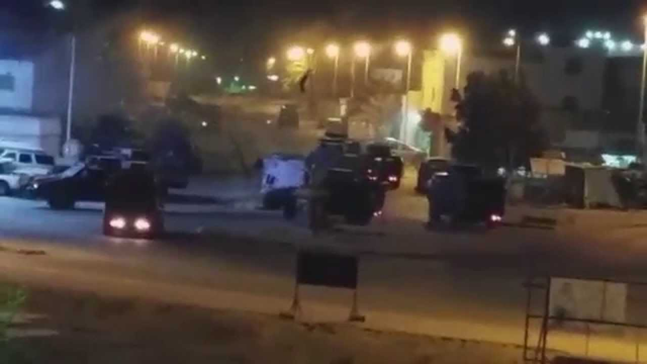VIDEO  from the town of Awamiyah where gunfire fills the streets