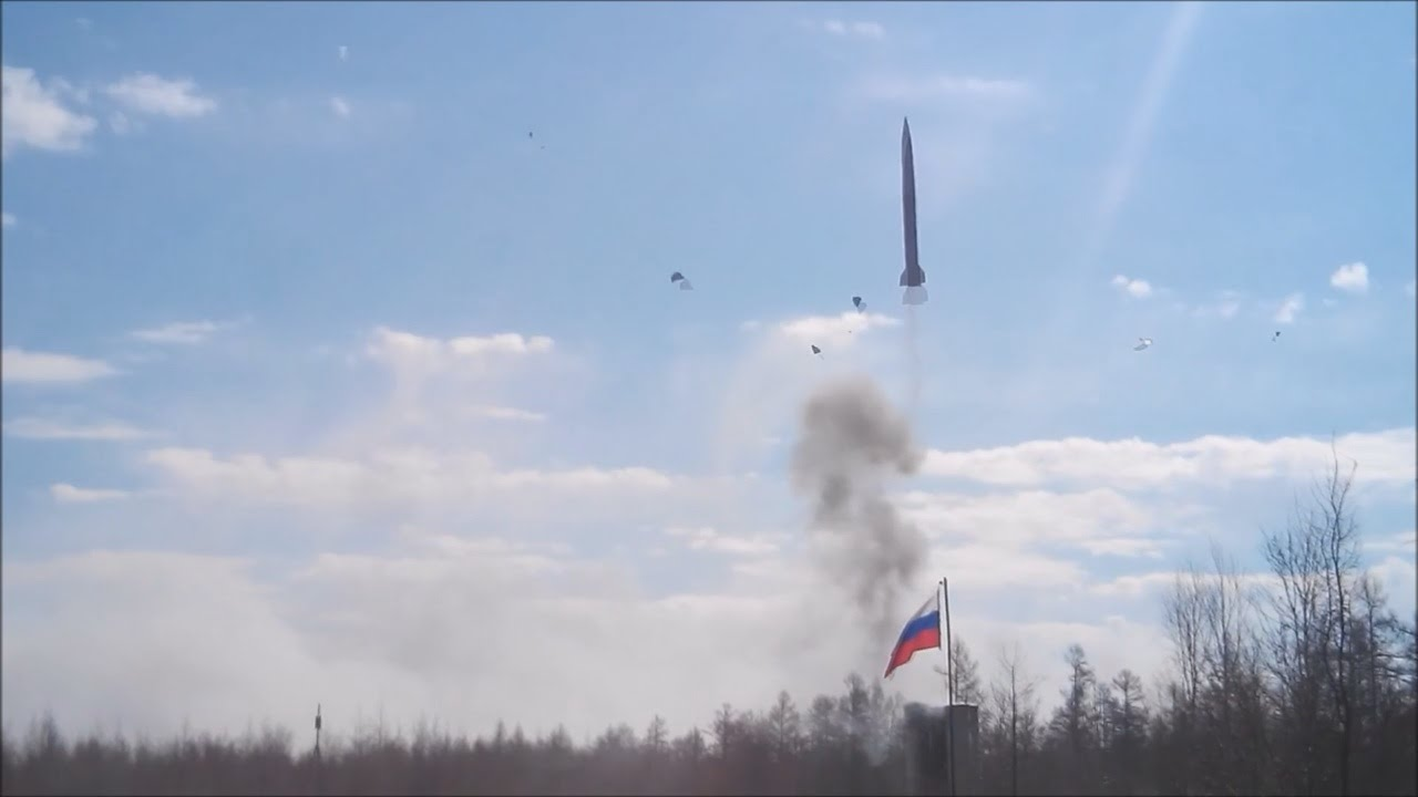 VIDEO :  Russian S-300 Anti-aircraft Missile Falls Down After Launch
