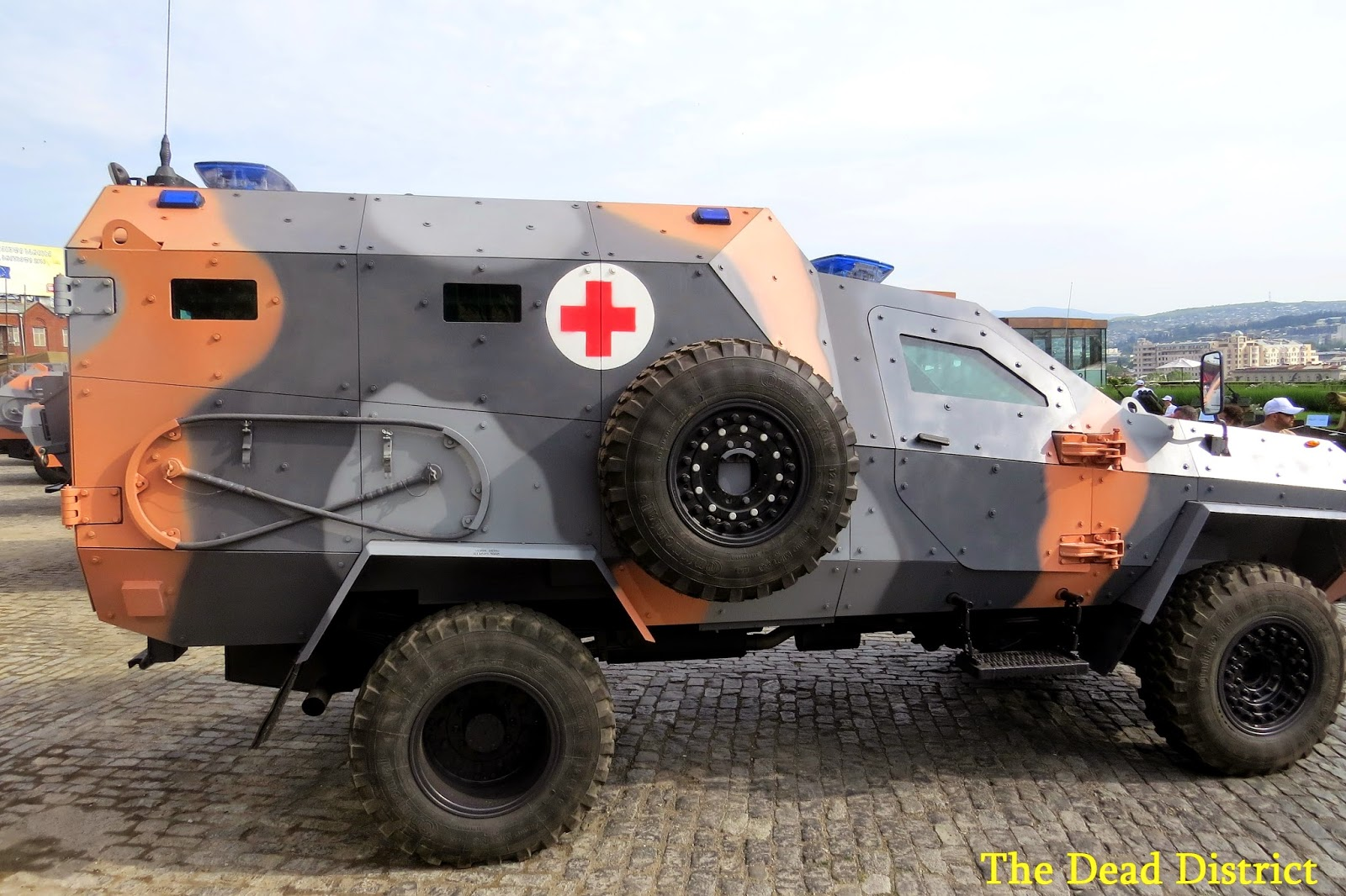Armored Vehicles For Sale >> Georgia presented new armored medical vehicle on base Didgori 2 – Defence Blog