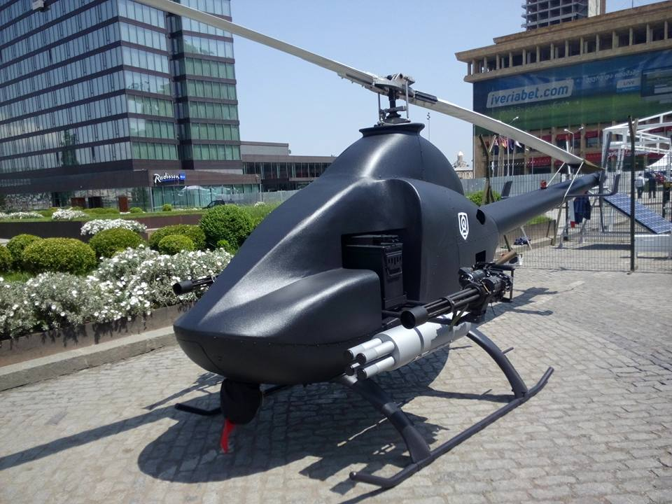 Georgia unveils new unmanned attack helicopter