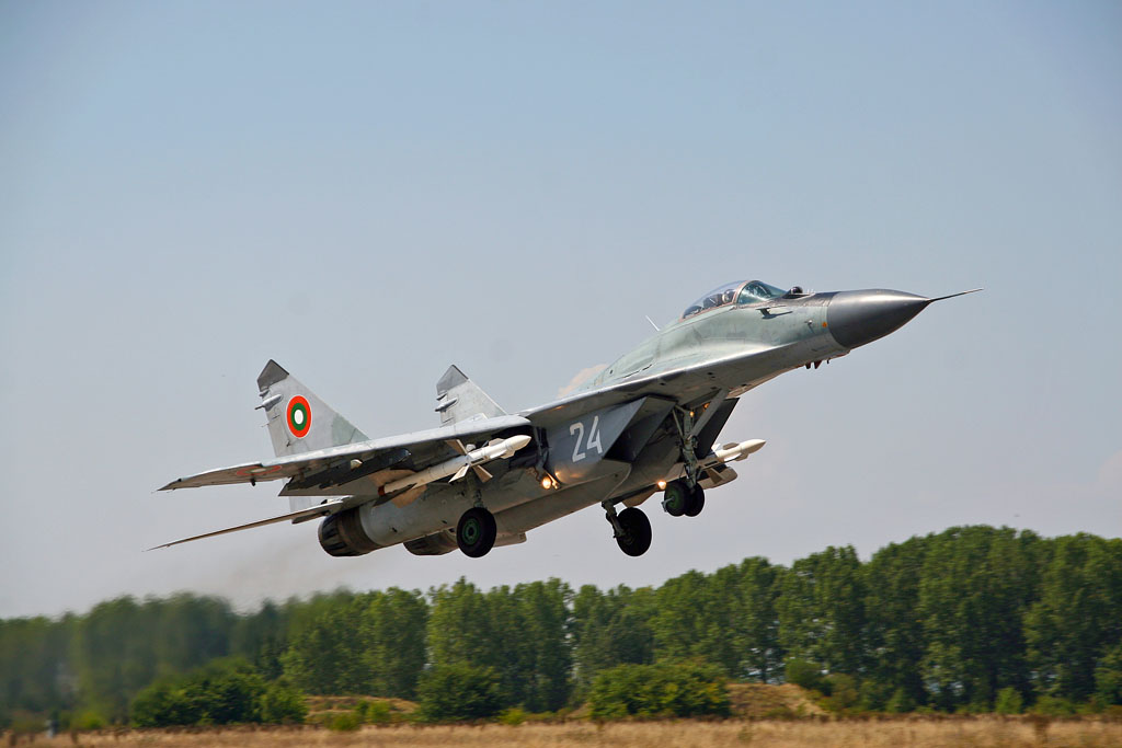 Bulgaria may sign deal with Russian firm on repairs to two MiG-29