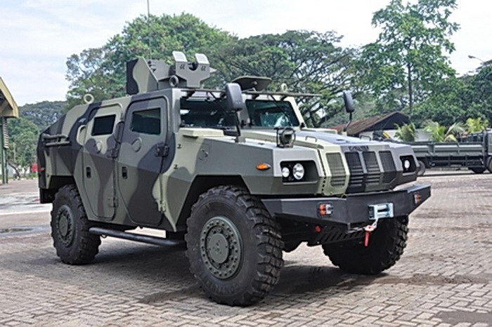 Indonesian Army buy 119 combat vehicles Panser Anoa and ...