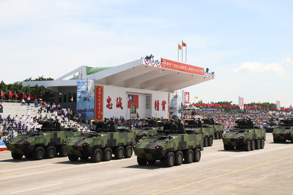 PHOTO from Taiwan military parade for victory celebrations