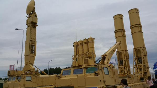 Russia signed a contract with Iran for the  delivery of the S-300 surface-to-air missile systems