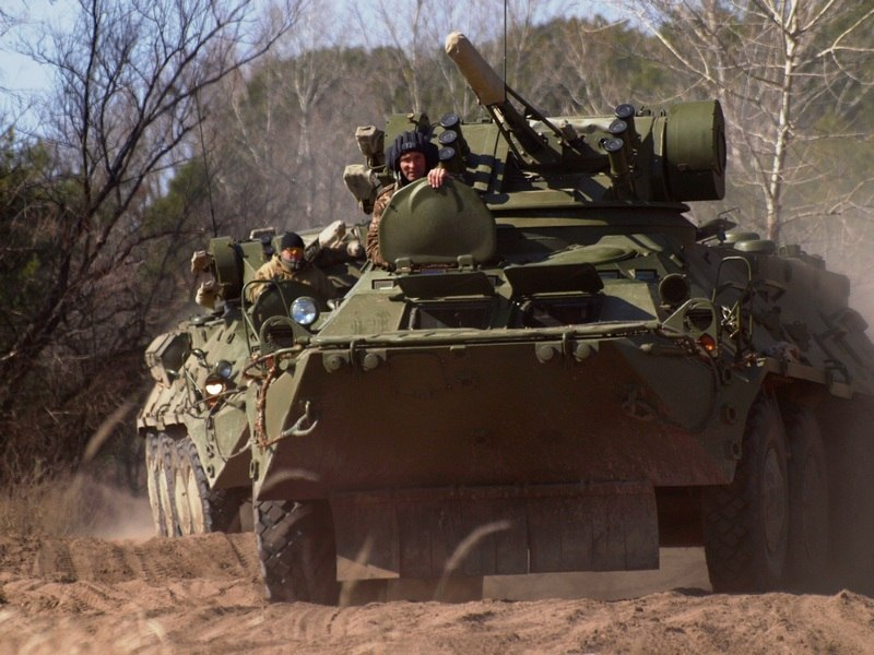 New Ukrainian armored personnel carrier is defective