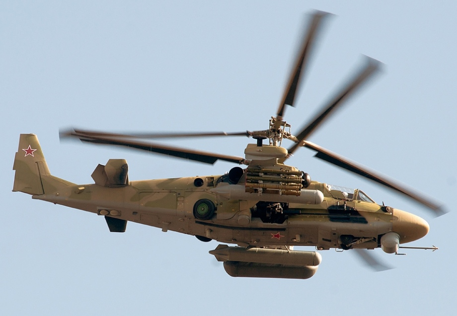 Algeria is interested in buying Ka-52 helicopters
