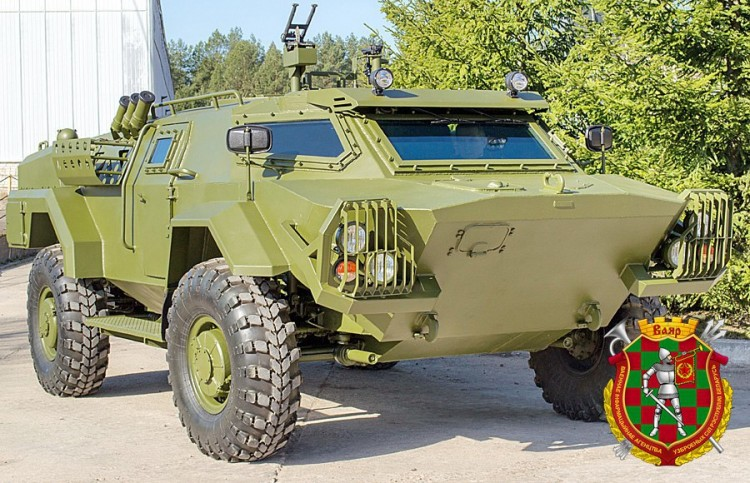 Cayman Light Armoured Reconnaissance Vehicle