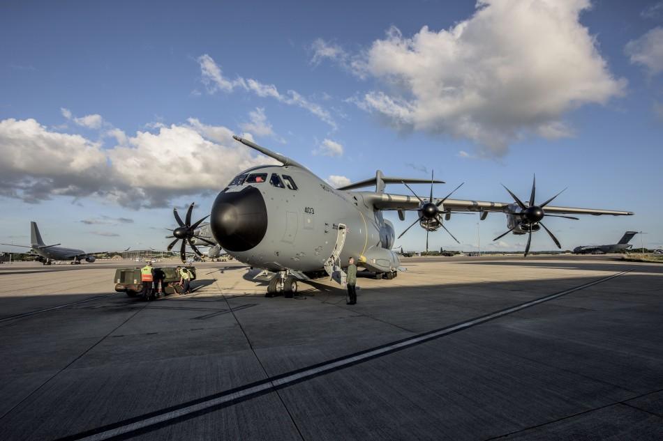 A400M transport aircraft is delivered to the Royal Air Force 3