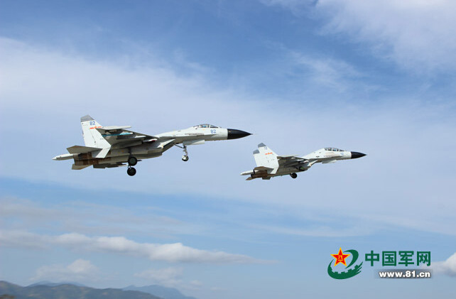 First Photos of Chinese Navy fighter F-11B 3