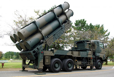 Japan want  to realign the  Shore-Based Missile System to counter China's