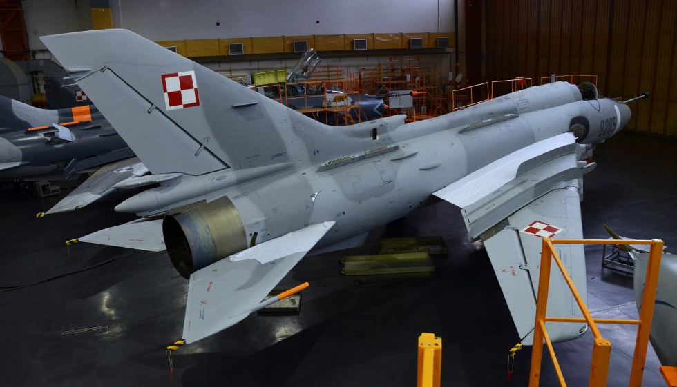 Poland Launches Su-22 Fighter-bomber Fighter Upgrades