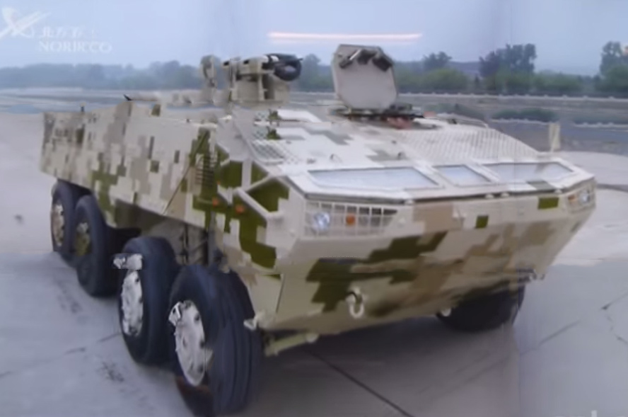 NORINCO is developing a new VP10 wheeled armored personnel carrier