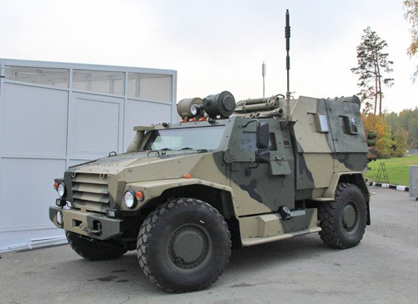 New «Wolf» military armoured vehicle will be taken into Russian Army service